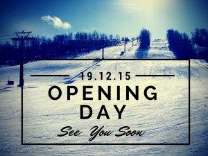 opening day at Mansfield Ski Club